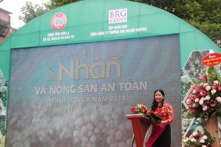 Bà Trần Thị Phương Lan - Phó GĐ Sở Công Thương Hà Nội Phát Biểu