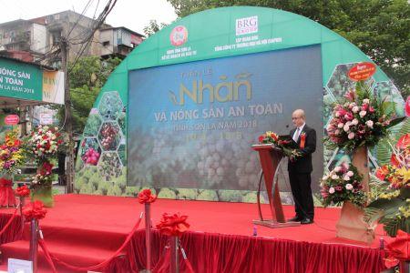 Ông Đinh Tiến Thành - Phó Tổng Giám đốc Hapro Phát Biểu