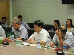 Đ/c Nguyễn Quốc Cường – Thứ trưởng Bộ ngoại giao, Đại sứ đặc mệnh toàn quyền Việt Nam tại Nhật Bản phát biểu tại buổi gặp mặt