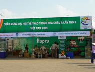 Hapro tham gia phục vụ Đại hội Thể thao Châu Á trong nhà AIG III