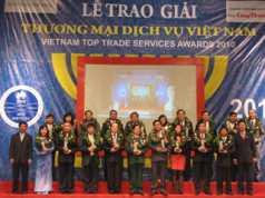 Hapro nhận giải top 10 Doanh nghiệp Thương mại Dịch vụ Xuất sắc năm 2010