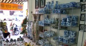 Khai trương cửa hàng giới thiệu và bán sản phẩm gốm sứ cao cấp Bát Tràng, Chu Đậu