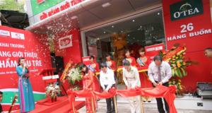Khai trương cửa hàng Haprofood giới thiệu sản phẩm cầu tre