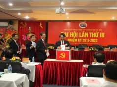 Đoàn Chủ tịch đại hội Đảng bộ TCT lần thứ III bỏ phiếu bầu BCH Đảng bộ TCT nhiệm kỳ 2015 -2020