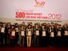 Lễ công bố 500 doanh nghiệp lớn nhất Việt Nam 2012
