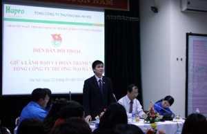 Diễn đàn đối thoại trực tuyến giữa lãnh đạo TCT và đoàn thanh niên Tổng công ty Thương mại Hà Nội