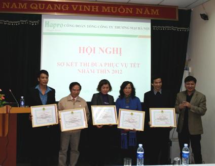 Hội nghị sơ kết thi đua phục vụ Tết Nhâm Thìn 2012
