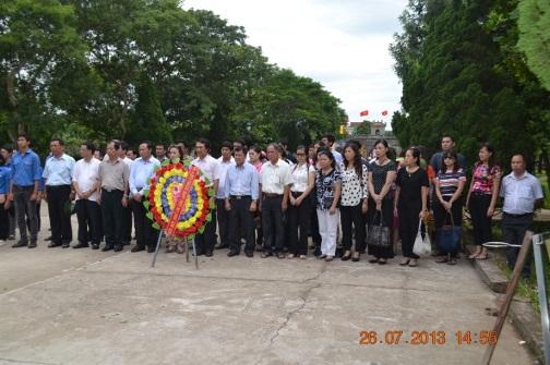 Hapro tổ chức hoạt động đền ơn đáp nghĩa nhân dịp kỷ niệm 66 năm ngày thương binh – liệt sỹ