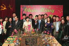 Thứ trưởng Bộ Công thương Hồ Thị Kim Thoa chúc Tết Tổng công ty Thương mại Hà Nội